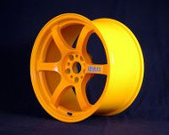 GramLights Fluorescent Orange 57D Wheel 18x9.5 5-114.3 22mm