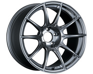 SSR GTX01 Wheel Dark Silver 17x9 5x100 38mm