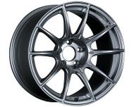 SSR GTX01 Wheel Dark Silver 18x10.5 5x114.3 22mm