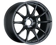 SSR GTX01 Wheel Flat Black 18x9.5 5x114.3 15mm