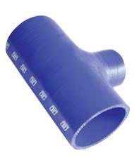 "TurboSmart Hose Tee 2.75"" ID 1.5"" spout - Blue"