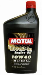 Motul Break-In Oil 10W40 (Mineral) 1L