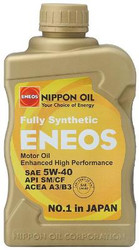 ENEOS 5W40 Fully Synthetic Motor Oil - 6qts(Case)