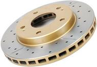 DBA Street Series Rotors Rear Drilled/Slotted Rotors for Pontiac Gto 2004