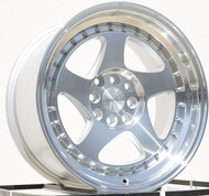 AODHAN Wheels AH01 – 18x10.5 +15 5x114.3 Silver Machined Face & Lip