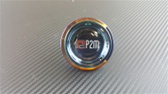 P2M Round Neo Chrome Oil Cap for Mitsubishi