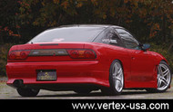 Vertex Rear Bumper for 240SX Hatchback/180SX 89-93