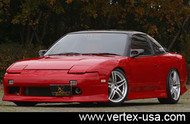 Vertex Front Bumper for 240SX Hatchback/180SX 89-93