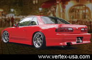 Vertex Rear Bumper for 240SX Coupe/Silvia 89-93