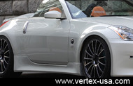 Vertex Side Skirts for Nissan 350Z Z33 Roadster