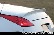 Vertex Rear Spoiler for Nissan 350Z Z33 Roadster