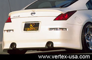 Vertex Full Rear Bumper for Nissan 350Z Z33