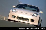 Vertex Full Front Bumper for Nissan 350Z Z33