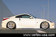 Vertex Side Skirts for Nissan 350Z Z33