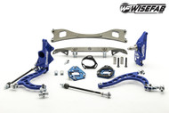 WiseFab Lockout Kit 2.0 w/ Rack Relocation Kit for Nissan 240SX S13