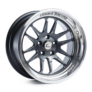 Cosmis Racing XT-206R Gun Metal w/ Machined Lip Wheel 18x9.5 +10mm 5x114.3
