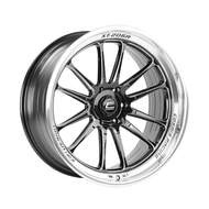 Cosmis Racing XT-206R Black w/ Machined Lip + Spokes Wheel 22x10 +0mm 6×139.7