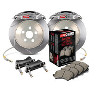 StopTech Trophy Slotted Front Brake Kit Street Pads for Honda S2000 AP2