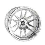 Cosmis Racing XT-206R Silver w/ Machined Face + Lip 18x9.5 +10mm 5x114.3