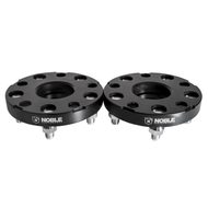 Noble Performance Wheel Spacers 5x114.3 20mm CB: 66.1 Color: Black (Pair)