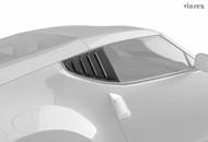 Vicrez Nissan 370z 2009-2018 LV Style Polyurethane Window Side Louvers vz100940