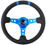 "NRG 350mm Sport Steering Wheel Limited Edition(3"" Deep) - Various Colors"