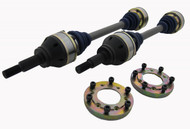Driveshaft Shop 1000HP Direct Bolt-In Pro-Level Rear Axles - Nissan GT-R R35 08-10