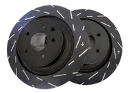 EBC Ultimax USR Slotted Rotors (Front) - Nissan 350Z/G35