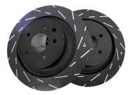 EBC Ultimax USR Slotted Rotors (Rear) - Nissan 350Z/G35