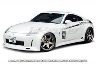 Greddy Gracer Side Skirts - Nissan 350Z 03-08