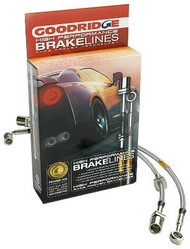 Goodridge Stainless Steel Brake Lines(Front & Rear) - Nissan 350Z/G35 03+