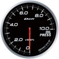 Defi Advance BF Series 60mm Link-Meter Gauge - Oil Pressure