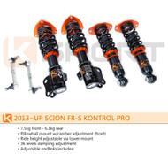 Ksport Kontrol Pro Coilovers Scion FR-S / Subaru BRZ (2013) CSC080-KP