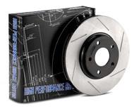 StopTech Power Slot Rear Slotted Rotors - Scion FR-S / Subaru BRZ