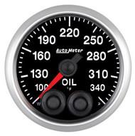Auto Meter Elite Series 52mm Gauges - Oil Temperature