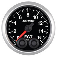 Auto Meter Elite Series 52mm Gauges - Exhaust Gas Temperature