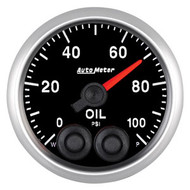 Auto Meter Elite Series 52mm Gauges - Oil Pressure