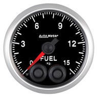 Auto Meter Elite Series 52mm Gauges - Fuel Pressure