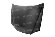 Seibon OEM Style CARBON FIBER HOOD HONDA ACCORD 2DR (CG2/3) 1998-2002