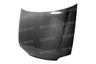 Seibon OEM Style CARBON FIBER HOOD HONDA CIVIC 4DR (EG8) 1992-1995