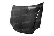 Seibon OEM Style CARBON FIBER HOOD HONDA CIVIC (EM1/EJ6/7/8/EK9)* 1999-2000