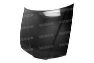 Seibon OEM Style CARBON FIBER HOOD HONDA PRELUDE (BB1/2) 1992-1996