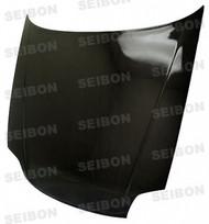 Seibon OEM Style CARBON FIBER HOOD HONDA PRELUDE (BB6) 1997-2001