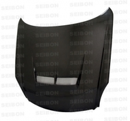 Seibon JS Style CARBON FIBER HOOD INFINITI G35 2DR (V35) 2003-2007