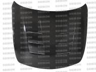 Seibon TS Style CARBON FIBER HOOD INFINITI G37 2DR (V36)* 2008-2010
