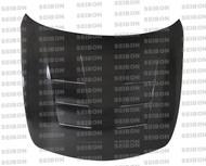 Seibon TS Style CARBON FIBER HOOD INFINITI G37 4DR (V36)* 2008-2010