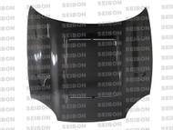 Seibon DVII Style CARBON FIBER HOOD MITSUBISHI 3000GT / GTO (Z11A/16A) 1994-1998