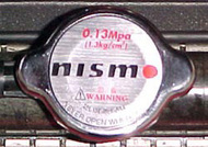 NISMO Racing Radiator Cap for Nissan