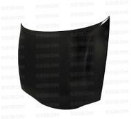 Seibon OEM Style CARBON FIBER HOOD MITSUBISHI ECLIPSE (D31A/32A) 1995-1999