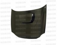 Seibon OEM Style CARBON FIBER HOOD SUBARU IMPREZA / WRX / STI (GDA/GGA)* 2002-2003
